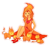 Flame Princess by Vainilla-s