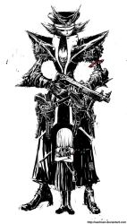 Persona -  MDK and Gunslinger by sachsen