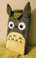 Totoro Tablet Case by CraftyTibbles