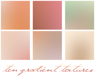 100x100 gradient textures by HAIRCURL