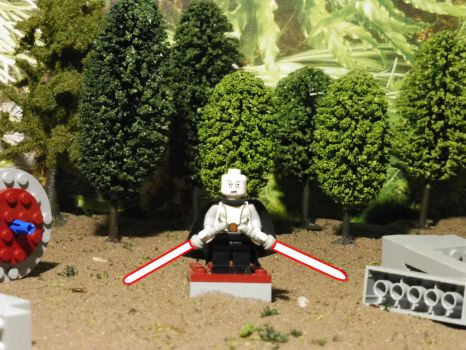 Asajj Ventress on Yavin 4 LEGO Star Wars by William-Blackbird