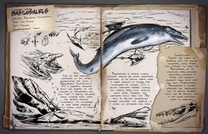 Ark: Survival Evolved Dossiers: Basilosaurus by DJDinoJosh