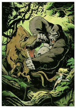 king kong by Zuccarello