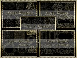 Celtic Brushes by Lavica-Photoshop