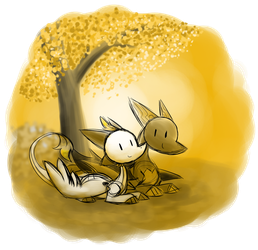 Day 38 - Gold by SilviShinyStar