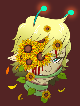 Goretober Day 28 - Plant Growth by CopperSpy