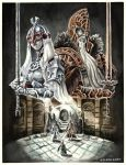 Throne Watcher and Throne Defender - Dark Souls 2 by evs-eme