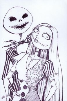 Jack and Sally by JRS-ART