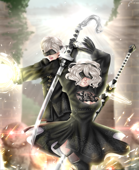 2b And 9s by prismpower