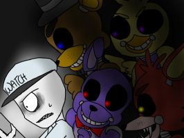 Five Nights At Freddy's by KuroWasNotHere
