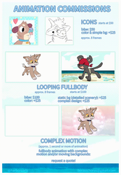 Animation Commissions! by harborsorts