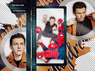 Photopack PNG Tom Holland by youremyonlydream