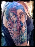 Corpse Bride tattoo II by lynettecooper