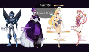 Adopt Me Package #7: Collab Adopts! (Closed) by LillinApocalypse