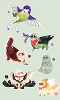 [Closed] [Auction] Peepsqueaks Batch 2! by kaybirbee