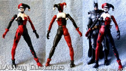 Harley Quinn_Custom Toy by AngelCrusher