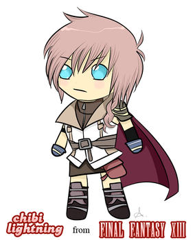Chibi Lightning by LovelyGioia
