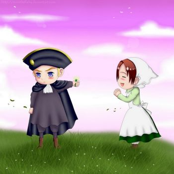 Hetalia: HRE and Chibitalia by EirinTheFairy