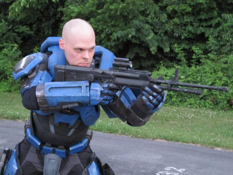 Halo cosplay. Mjolnir armor MK5 A pic 4 by philorion7