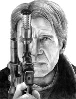 Han Solo (Star Wars) The Force Awakens by SoulStryder210
