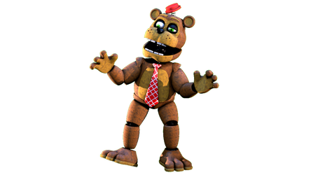 [FNaF/CollabEntry] Nedd-Bear by PixelKirby340