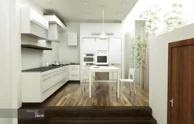 small kitchen by cavoi
