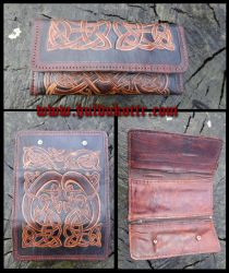Viking woman wallet by Huldukottr