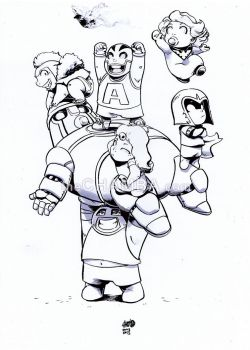 X-baby-Villains by theCHAMBA