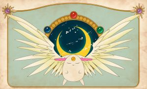 Mokona - Magic Knight Rayearth by chibineko4