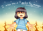 Summer Card Project by Snowinette