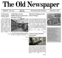 Mockup 'The Old Newspaper' v1 by lysergicstudio