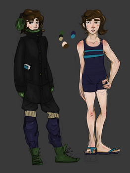 Andi Alternate Outfits (Winter and Summer) by carcajouse