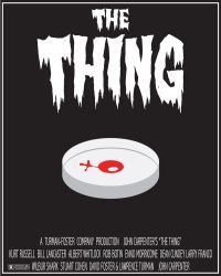 The Thing Minimal Movie Poster by 3-DMonster