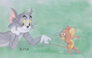 Tom and Jerry by julie090995