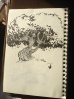 Crooked Tree by Sylvainhibou