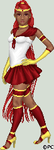 Sailor Red Dwarf by isoldel