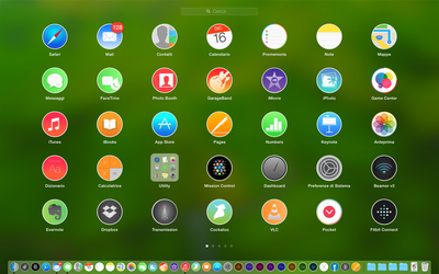 MAC OS X MyYosemite Icons v 1.0 by Sosuke111