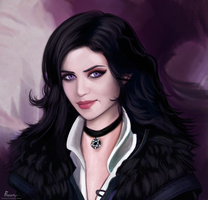Yennefer of Vengerberg by fawwaz1