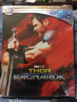My copy of Thor Ragnarok by foxylvr2189
