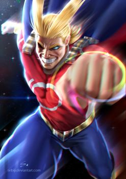 All Might by Sebiji