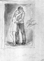 Lily and James - an old photo by pottering
