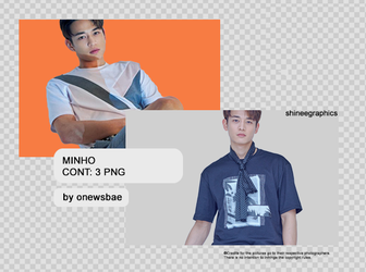 3 / Minho | pack png by SHINeeEditions