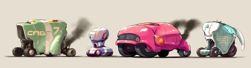 Random Vehicles by joulester