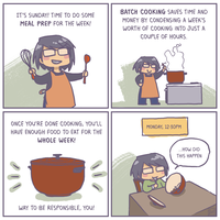 Adulting, sort of! by luyidraws