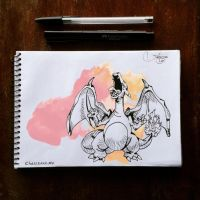 #4 CHARIZARD by SnitchWing