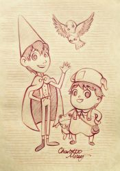 Over the Garden Wall by CharlotteMosey