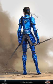 The great wall costume art 01 by 1oshuart