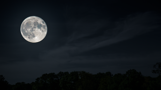 SuperMoon Wallpaper by Pierre-Lagarde