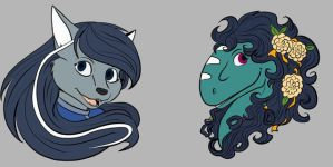 Silver and Rad Charm Designs by shivaesyke