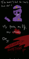FNAF - Ask Purple Guy and Springtrap by Niutellat